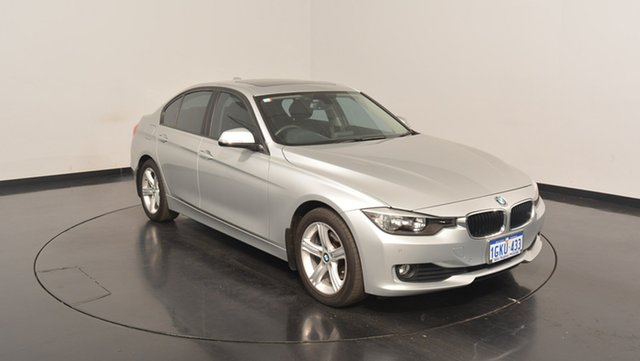 Used BMW 320D F30 MY1112 , 2013 BMW 320D F30 MY1112 Reflex Silver 8 Speed Sports Automatic Sedan