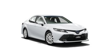 2019 Toyota Camry AXVH71R Ascent Frosted White 6 Speed Constant Variable Sedan Hybrid.