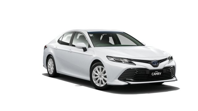 New Toyota Camry AXVH71R Ascent, 2019 Toyota Camry AXVH71R Ascent Frosted White 6 Speed Constant Variable Sedan Hybrid