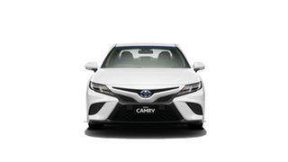 2019 Toyota Camry AXVH71R Ascent Sport Glacier White 6 Speed Constant Variable Sedan Hybrid