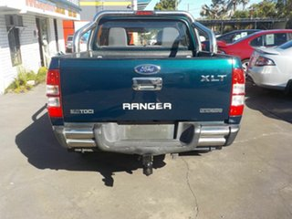 2007 Ford Ranger PJ XLT (4x4) Green 5 Speed Automatic Dual Cab Pick-up