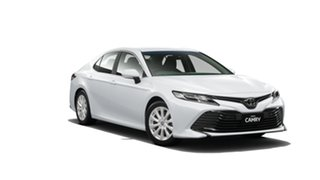 2018 Toyota Camry ASV70R Ascent Frosted White 6 Speed Sports Automatic Sedan.