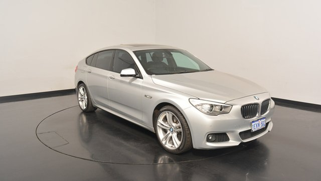 Used BMW 520D F07 LCI M Sport Gran Turismo Steptronic, 2013 BMW 520D F07 LCI M Sport Gran Turismo Steptronic Silver 8 Speed Sports Automatic Hatchback