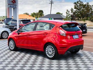 2014 Ford Fiesta WZ Sport Red 5 Speed Manual Hatchback