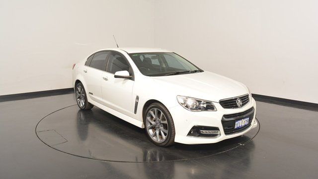 Used Holden Commodore VF MY14 SS V, 2013 Holden Commodore VF MY14 SS V White 6 Speed Manual Sedan