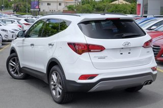 2018 Hyundai Santa Fe DM5 MY18 Highlander Pure White 6 Speed Sports Automatic Wagon.