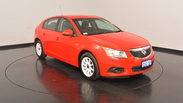 Used Holden Cruze JH Series II MY12 CD, 2012 Holden Cruze JH Series II MY12 CD Red 6 Speed Sports Automatic Hatchback