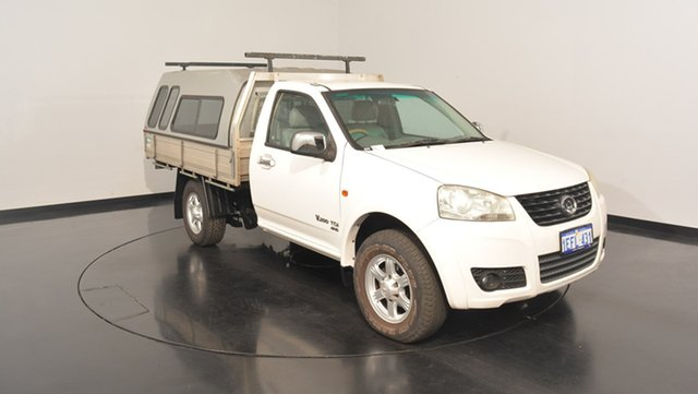 Used Great Wall V200 K2 MY12 , 2011 Great Wall V200 K2 MY12 White 6 Speed Manual Cab Chassis