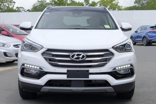 2018 Hyundai Santa Fe DM5 MY18 Highlander Pure White 6 Speed Sports Automatic Wagon