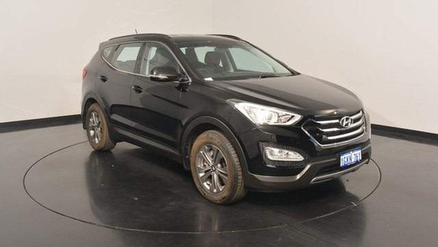 Used Hyundai Santa Fe DM2 MY15 Active, 2015 Hyundai Santa Fe DM2 MY15 Active Phantom Black 6 Speed Sports Automatic Wagon