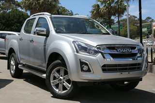 2018 Isuzu D-MAX MY17 LS-Terrain Crew Cab Graphite Grey 6 Speed Sports Automatic Utility.