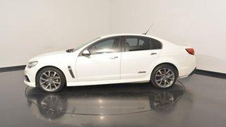 2013 Holden Commodore VF MY14 SS V White 6 Speed Manual Sedan.