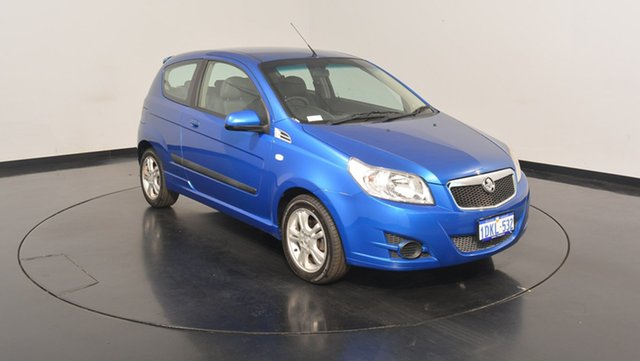 Used Holden Barina TK MY10 , 2010 Holden Barina TK MY10 Blue 5 Speed Manual Hatchback