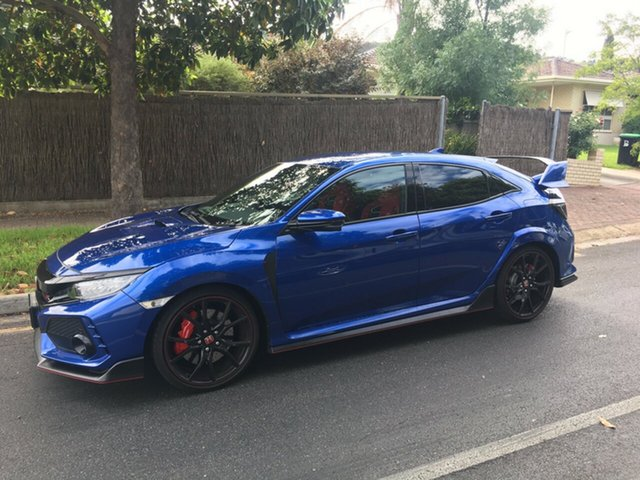 Demo Honda Civic 10th Gen MY17 Type R, 2017 Honda Civic 10th Gen MY17 Type R Brilliant Sporty Blue 6 Speed Manual Hatchback