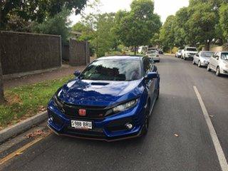 2017 Honda Civic 10th Gen MY17 Type R Brilliant Sporty Blue 6 Speed Manual Hatchback.
