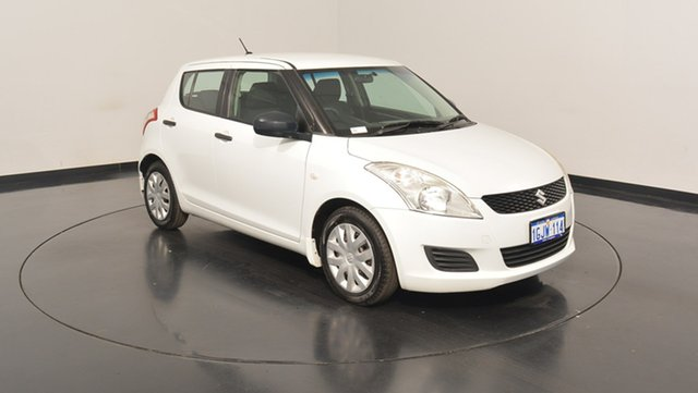 Used Suzuki Swift FZ GA, 2012 Suzuki Swift FZ GA White 4 Speed Automatic Hatchback