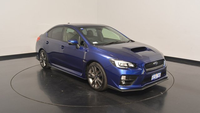 Used Subaru WRX V1 MY17 Premium AWD, 2016 Subaru WRX V1 MY17 Premium AWD Blue 6 Speed Manual Sedan