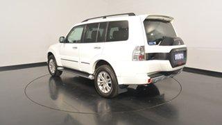 2016 Mitsubishi Pajero NX MY17 Exceed White 5 Speed Sports Automatic Wagon.