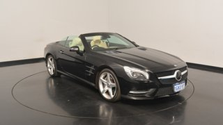 2013 Mercedes-Benz SL350 R231 BlueEFFICIENCY 7G-Tronic + Black 7 Speed Sports Automatic Roadster.
