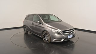 2014 Mercedes-Benz B250 W246 DCT Grey 7 Speed Sports Automatic Dual Clutch Hatchback.