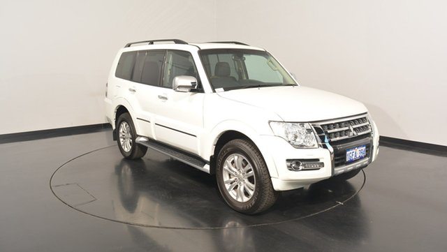 Used Mitsubishi Pajero NX MY17 Exceed, 2016 Mitsubishi Pajero NX MY17 Exceed White 5 Speed Sports Automatic Wagon