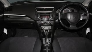 2012 Suzuki Swift FZ GA White 4 Speed Automatic Hatchback