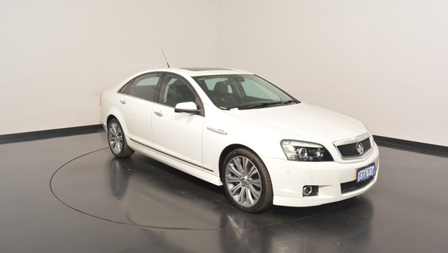Used Holden Caprice WN MY14 V, 2014 Holden Caprice WN MY14 V White 6 Speed Sports Automatic Sedan
