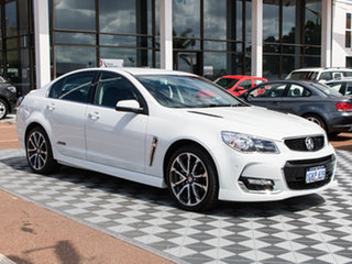 2016 Holden Commodore VF II MY16 SS V Heron White 6 Speed Sports Automatic Sedan.