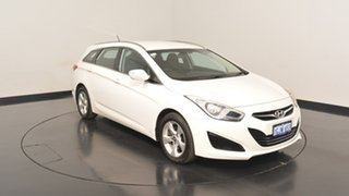 2012 Hyundai i40 VF Active Tourer White 6 Speed Sports Automatic Wagon.