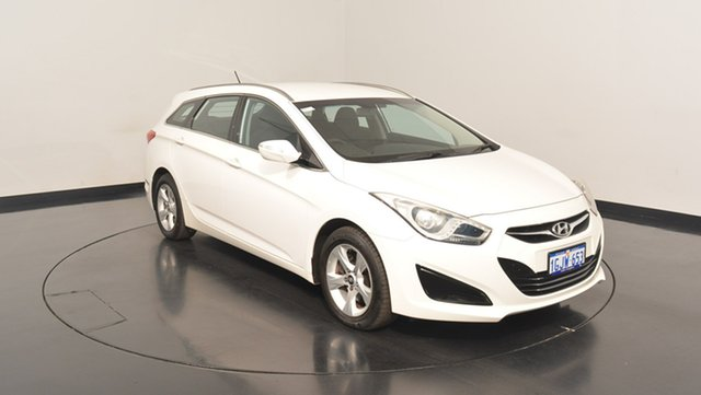 Used Hyundai i40 VF Active Tourer, 2012 Hyundai i40 VF Active Tourer White 6 Speed Sports Automatic Wagon