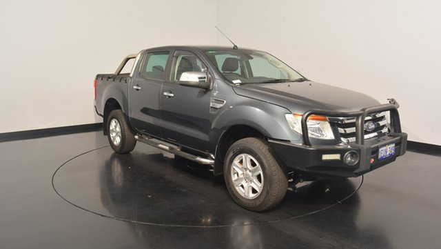 Used Ford Ranger PX XLT Double Cab, 2015 Ford Ranger PX XLT Double Cab Metropolitan Grey 6 Speed Manual Utility