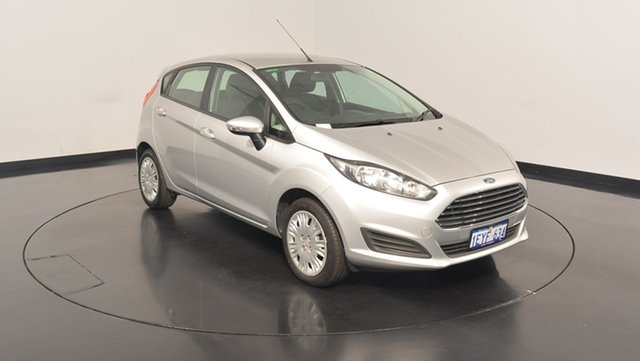 Used Ford Fiesta WZ MY15 Ambiente PwrShift, 2015 Ford Fiesta WZ MY15 Ambiente PwrShift Ingot Silver 6 Speed Sports Automatic Dual Clutch