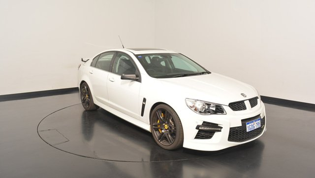 Used Holden Special Vehicles GTS GEN-F MY14 , 2014 Holden Special Vehicles GTS GEN-F MY14 White 6 Speed Sports Automatic Sedan