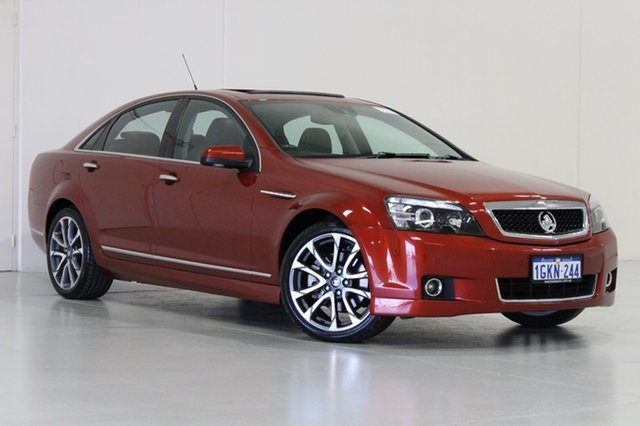 Used Holden Caprice WN MY16 V, 2016 Holden Caprice WN MY16 V Red 6 Speed Auto Active Sequential Sedan