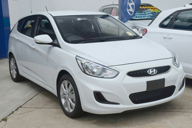 New Hyundai Accent RB6 MY18 Sport Albion, 2017 Hyundai Accent RB6 MY18 Sport Chalk White 6 Speed Sports Automatic Hatchback