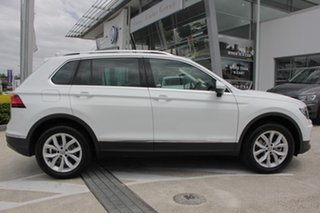 2018 Volkswagen Tiguan 5N MY18 140TDI DSG 4MOTION Highline Pure White 7 Speed