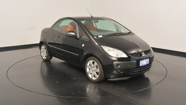 Used Mitsubishi Colt RZ MY07 , 2007 Mitsubishi Colt RZ MY07 Black 5 Speed Manual Cabriolet