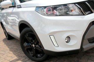 2017 Suzuki Vitara LY S Turbo 2WD Cool White 6 Speed Sports Automatic Wagon.