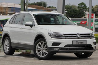 2018 Volkswagen Tiguan 5N MY18 140TDI DSG 4MOTION Highline Pure White 7 Speed.