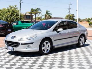 2005 Peugeot 407 ST HDI Comfort Silver 4 Speed Sports Automatic Sedan.