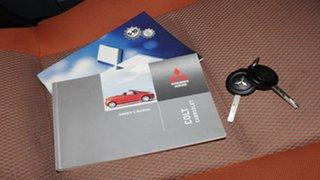 2007 Mitsubishi Colt RZ MY07 Black 5 Speed Manual Cabriolet