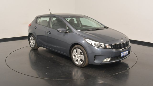 Used Kia Cerato YD MY16 S, 2016 Kia Cerato YD MY16 S Planet Blue 6 Speed Sports Automatic Hatchback