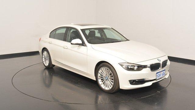 Used BMW 328I F30 MY0813 Luxury Line, 2013 BMW 328I F30 MY0813 Luxury Line White 8 Speed Sports Automatic Sedan