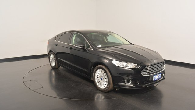 Used Ford Mondeo MD 2017.00MY Trend PwrShift, 2017 Ford Mondeo MD 2017.00MY Trend PwrShift Black 6 Speed Sports Automatic Dual Clutch Hatchback