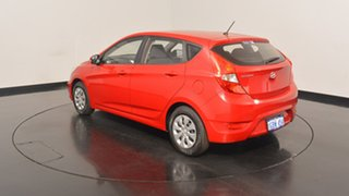 2016 Hyundai Accent RB4 MY16 Active Veloster Red 6 Speed Constant Variable Hatchback.