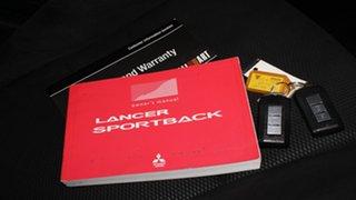 2011 Mitsubishi Lancer CJ MY11 Ralliart Sportback TC-SST Blue 6 Speed Sports Automatic Dual Clutch