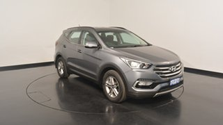2016 Hyundai Santa Fe DM3 MY16 Active Titanium Silver 6 Speed Sports Automatic Wagon.