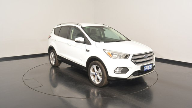 Used Ford Escape ZG Trend PwrShift AWD, 2017 Ford Escape ZG Trend PwrShift AWD White 6 Speed Sports Automatic Dual Clutch Wagon