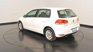 2012 Volkswagen Golf VI MY12.5 90TSI DSG Trendline Candy White 7 Speed Sports Automatic Dual Clutch.