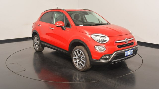 Used Fiat 500X 334 Cross Plus AWD, 2015 Fiat 500X 334 Cross Plus AWD Red 9 Speed Sports Automatic Wagon